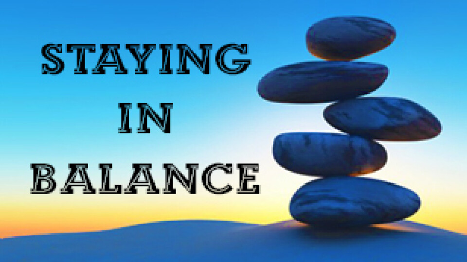 Staying In Balance Support Group & Bible Study