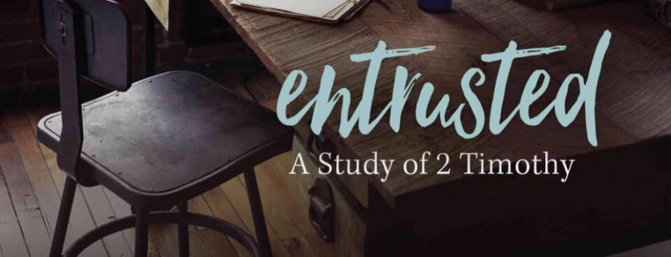 "Ladies Bible Study - Beth Moore ""Entrusted"""